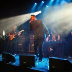 The band Älymystö (Aelymystoe)  from Finland performs at the Uma Obscura Festival 2016.