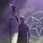 The artist Lucifer's Aid from Sweden performs at Uma Obscura 2016.
